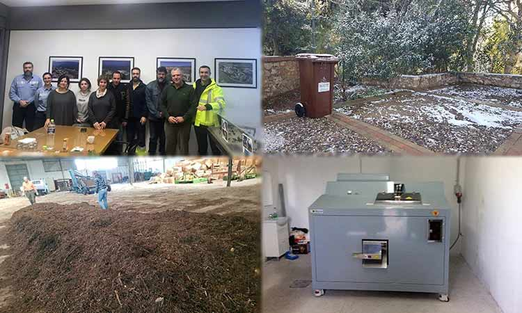 Καύσιμο για τη βαριά βιομηχανία τα βιοαπόβλητα του Δήμου Χαλανδρίου