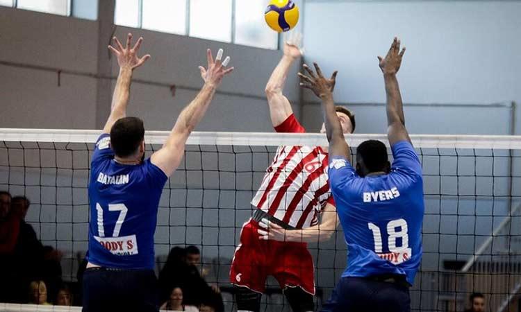 Volley League: Ήττα στο Ζηρίνειο για την Κηφισιά από τον Ολυμπιακό με 3-0 σετ