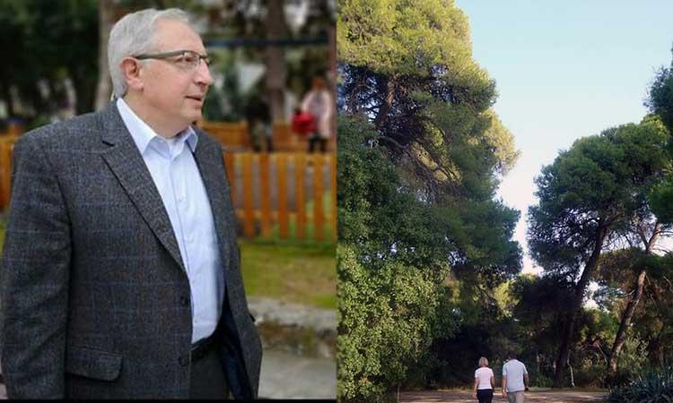 Να κλείσει άμεσα το δάσος Συγγρού ζητεί ο δήμαρχος Αμαρουσίου