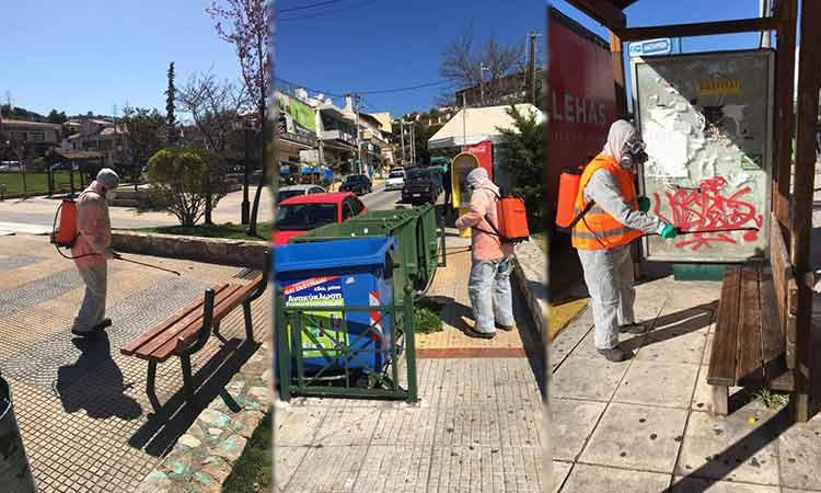 Στην «πρώτη γραμμή» η Καθαριότητα του Δήμου Πεντέλης