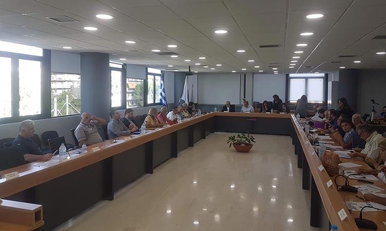 Κεκλεισμένων των θυρών η σημερινή (11/3) συνεδρίαση του Δημοτικού Συμβουλίου στο Ηράκλειο λόγω κορωνοϊού