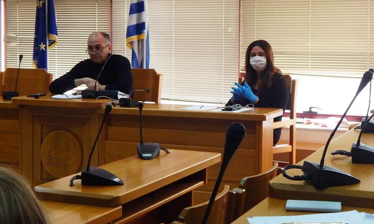 Σύσκεψη εργασίας της Επιτροπής για την πρόληψη και αντιμετώπιση της μετάδοσης του κορωνοϊού στη Μεταμόρφωση