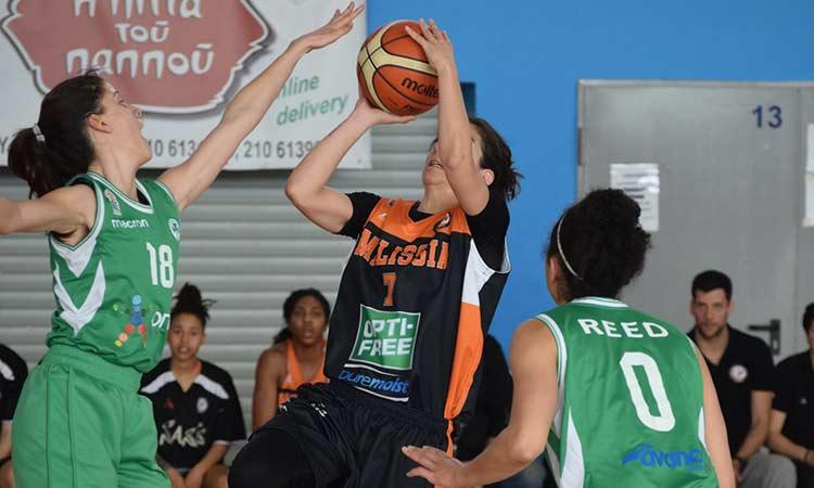 Α1 μπάσκετ Γυναικών: Ο ΚΑΟ Μελισσίων δεν είχε καμία τύχη απέναντι στον Παναθηναϊκό