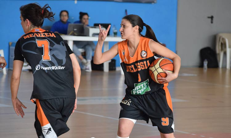 Α1 μπάσκετ Γυναικών: Ήττα του ΚΑΟ Μελισσίων από τον ΠΑΟΚ με 75-62