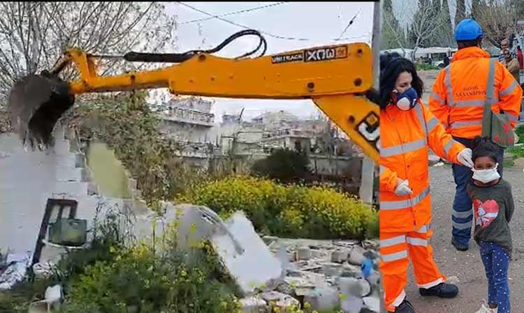 Συνεχίζονται οι κατεδαφίσεις και οι καθαρισμοί στον καταυλισμό των Ρομά στο Νομισματοκοπείο (Video)