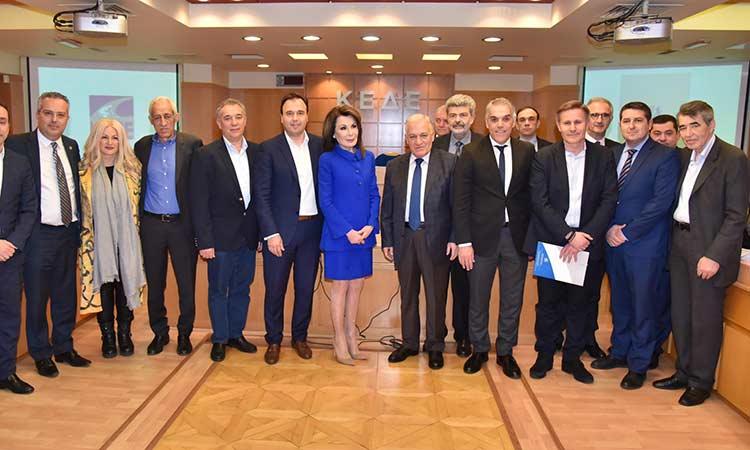 Ο Τ. Μαυρίδης έδωσε το «παρών» στη συνάντηση της ΚΕΔΕ με την πρόεδρο της Επιτροπής «Ελλάδα 2021»