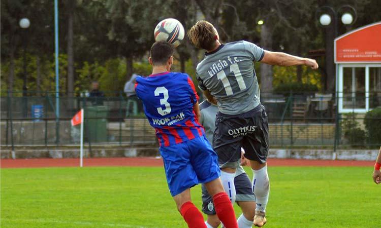 Ήττα για την Κηφισιά από τη Θύελλα Καμαρίου με 2-0 στην 22η αγωνιστική της Γ' Εθνικής ποδοσφαίρου