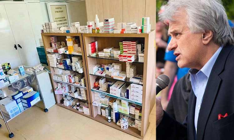 Γ. Σταθόπουλος προς διοίκηση Ζορμπά: Λειτουργήστε τώρα το Κοινωνικό Φαρμακείο στον Τσακό