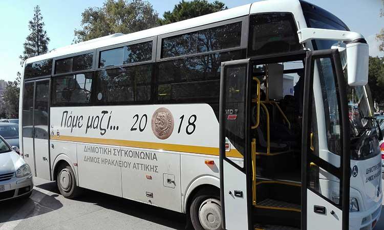 Ο κορωνοϊός «τράβηξε χειρόφρενο» στα λεωφορεία της Δημοτικής Συγκοινωνίας στο Ηράκλειο