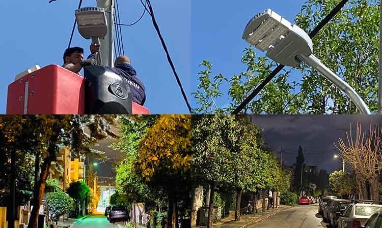 Ο Δήμος Παπάγου – Χολαργού… αλλάζει τα φώτα του