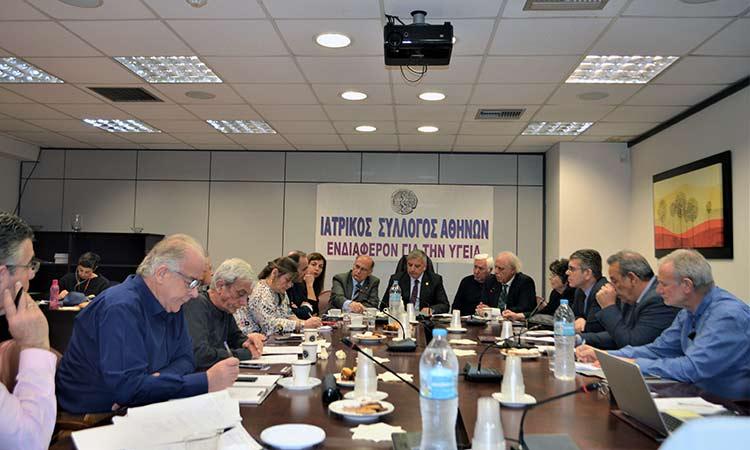 Συμμετοχή της Περιφέρειας Αττικής στην έκτακτη σύσκεψη του ΙΣΑ για την αντιμετώπιση του κορωνοϊού