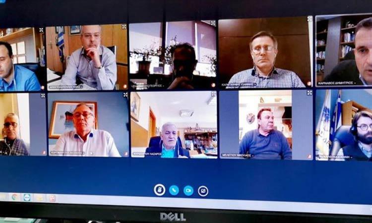 Δεκάδες Δήμοι σπεύδουν να αξιοποιήσουν την πλατφόρμα τηλεδιάσκεψης που τους διαθέτει η ΚΕΔΕ
