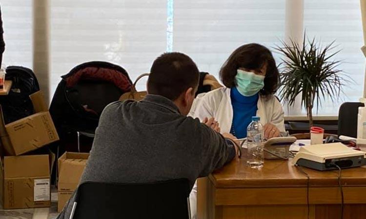 Ικανοποίηση Ηλ. Αποστολόπουλου για το αποτέλεσμα της αιμοδοσίας στο δημαρχείο Παπάγου – Χολαργού