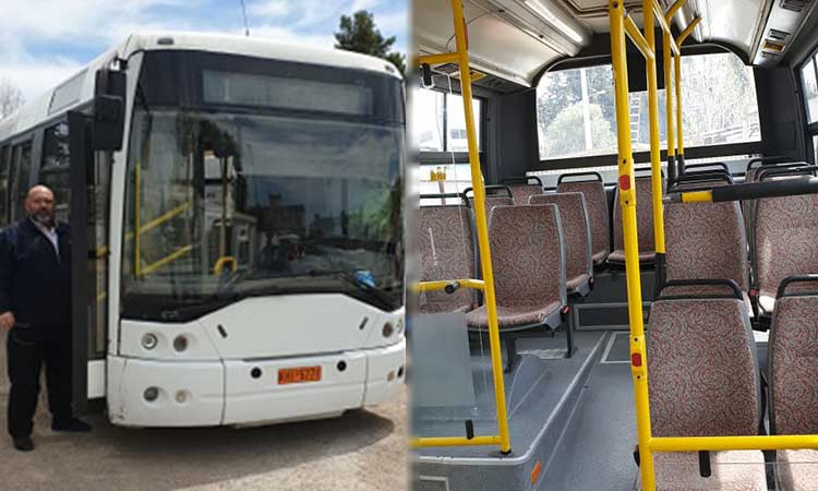 Ακόμη εκτός λειτουργίας το λεωφορείο της δημοτικής συγκοινωνίας Μεταμόρφωσης
