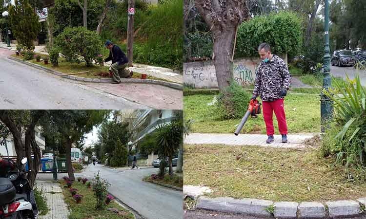 Καθαρισμοί και φυτεύσεις φυτών και λουλουδιών σε Λυκόβρυση και Πεύκη