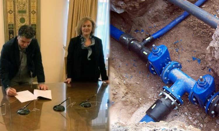Μπήκαν οι υπογραφές για τον εκσυγχρονισμό του δημοτικού δικτύου ύδρευσης στα Βριλήσσια