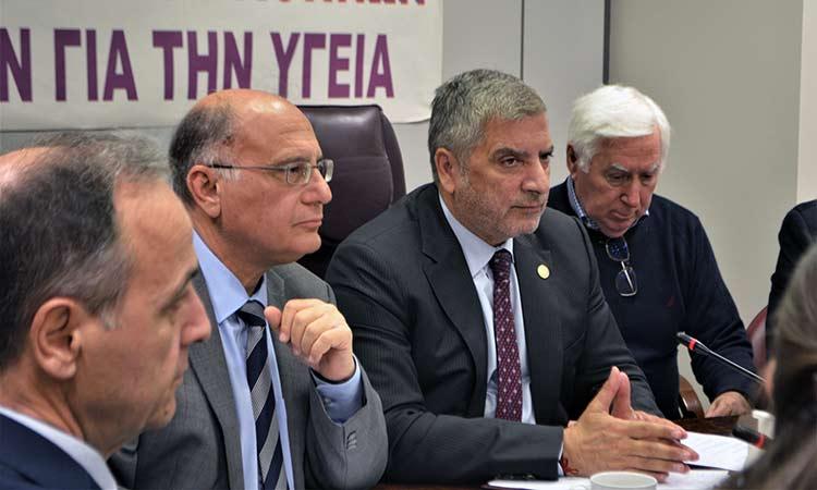 Κρίσιμα θέματα συζητήθηκαν στη σύσκεψη της ομάδας για τον κορωνοϊό της Περιφέρειας και του ΙΣΑ