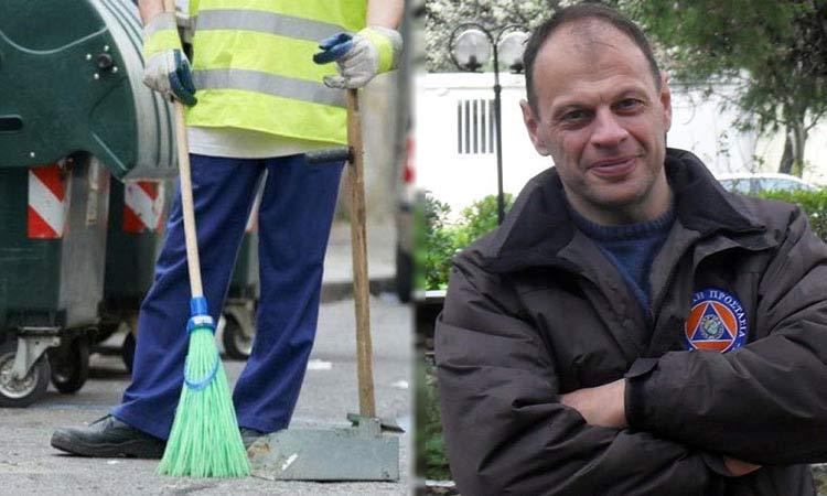 Β. Μπούρας: Η Καθαριότητα είναι δημόσιο αγαθό κ. Κεχαγιά
