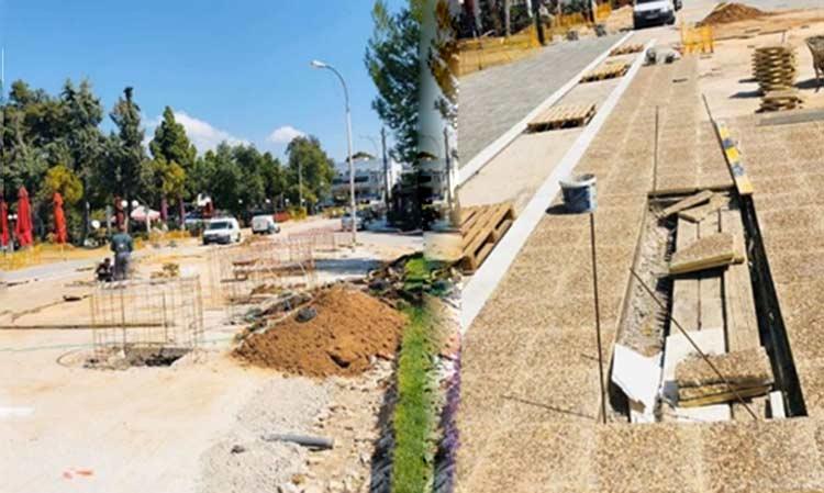 Γ. Σταθόπουλος: Συνεχίζονται στην Αγ. Παρασκευή τρία έργα που εμείς σχεδιάσαμε και δημοπρατήσαμε