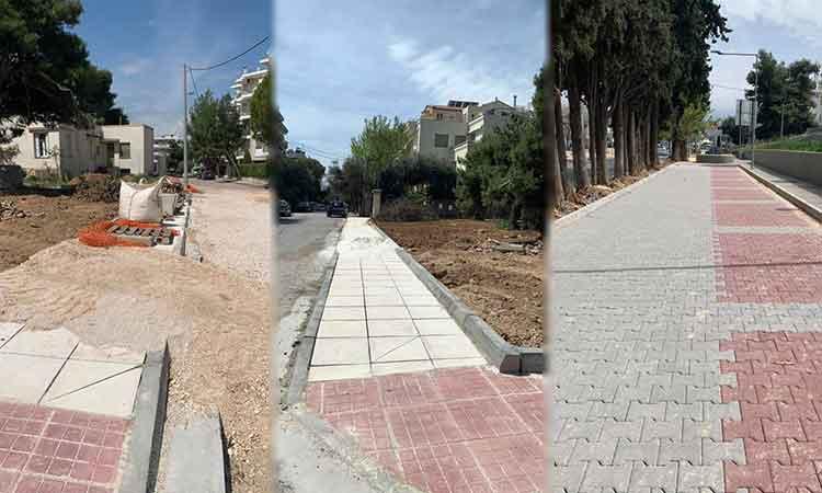 Τ. Μαυρίδης: Έργα αναπλάσεων και υποδομών σε κάθε γειτονιά της Λυκόβρυσης και Πεύκης