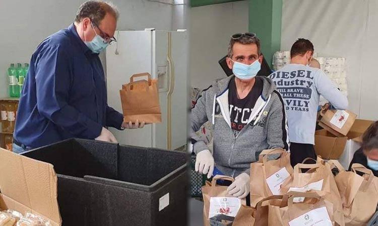 Περισσότερα από 500 πασχαλινά γεύματα διανεμήθηκαν στον Δήμο Χαλανδρίου