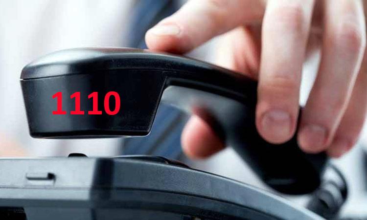 Πλησιάζουν τις 40.000 οι κλήσεις στο τηλεφωνικό κέντρο 1110