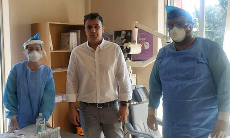 130 προληπτικοί έλεγχοι από τον ΕΟΔΥ σε εργαζόμενους του Δήμου Βριλησσίων