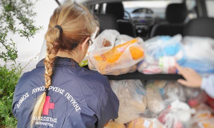 Ολοκληρώθηκε η διανομή τροφίμων του Μαΐου στους δικαιούχους του Κοινωνικού Παντοπωλείου Λυκόβρυσης – Πεύκης