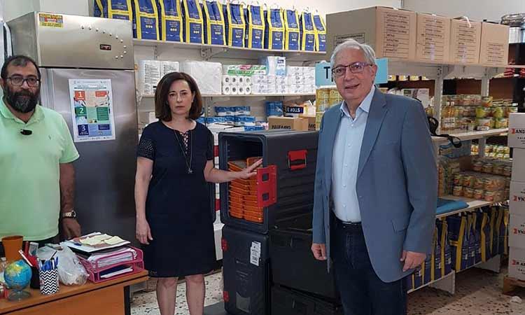 Συνεχίζεται η δράση διανομής γευμάτων στον Δήμο Αμαρουσίου