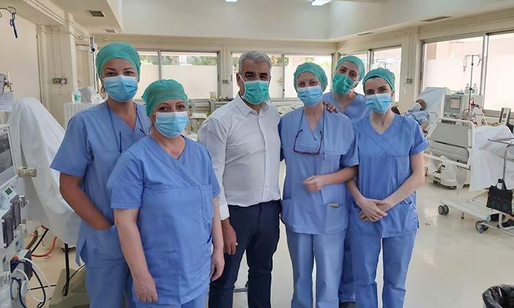 Συγχαρητήρια Δ. Θωμαΐδου στον Μ. Μαντζανά, νέο δ/ντή Νοσηλευτικής στο «Αγία Όλγα»