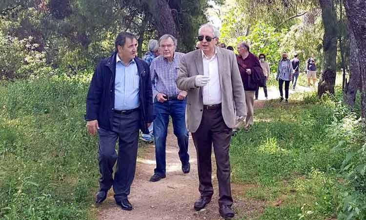 Τα προβλήματα των κατοίκων στο Νέο Μαρούσι άκουσε ο δήμαρχος Θ. Αμπατζόγλου