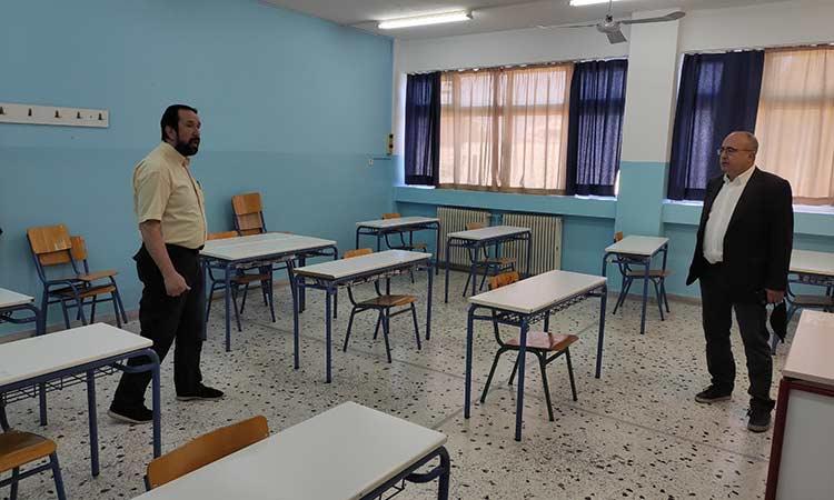Έτοιμα βρήκε τα Λύκεια του Δήμου Ηρακλείου Αττικής η επανέναρξη των μαθημάτων
