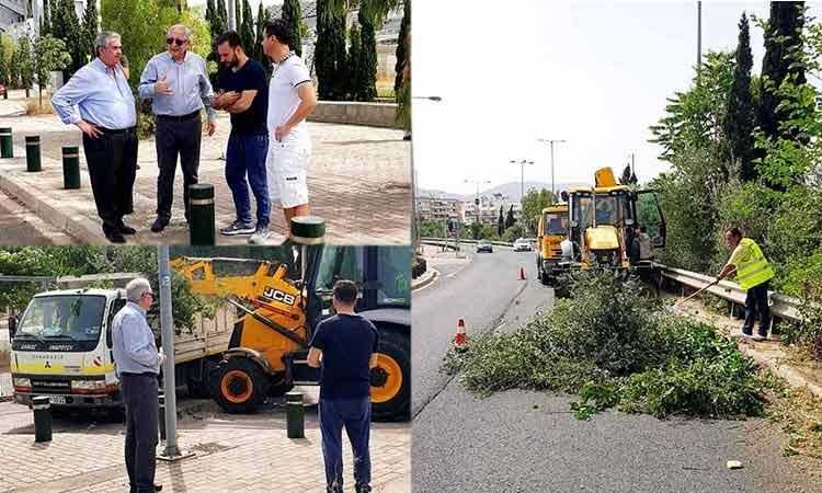Ο Δήμος Αμαρουσίου… καθάρισε και στο ΟΑΚΑ «Σπύρος Λούης»