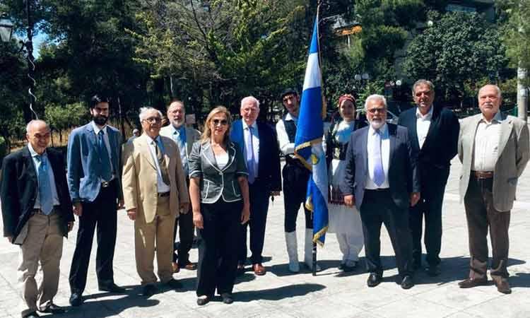 Ο Σύλλογος Κρητών Λυκόβρυσης – Πεύκης «Ο ΤΑΛΩΣ» τίμησαν τη Μάχη της Κρήτης