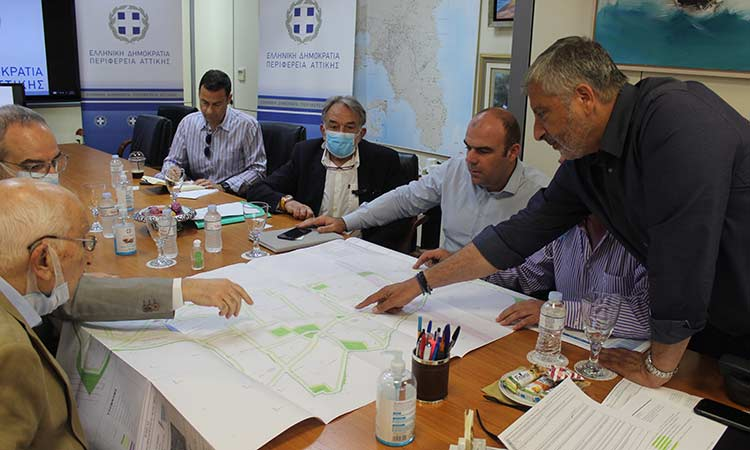 Για το Επιχειρηματικό Πάρκο Ασπροπύργου συζήτησαν ο περιφερειάρχης Αττικής και ο δήμαρχος της περιοχής