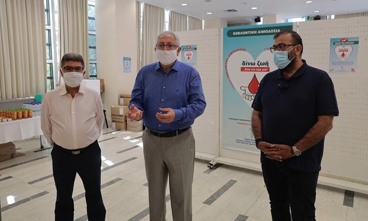 Με 200 φιάλες αίματος ενισχύεται η Τράπεζα Αίματος Δήμου Αμαρουσίου μετά την 34η Εθελοντική Αιμοδοσία