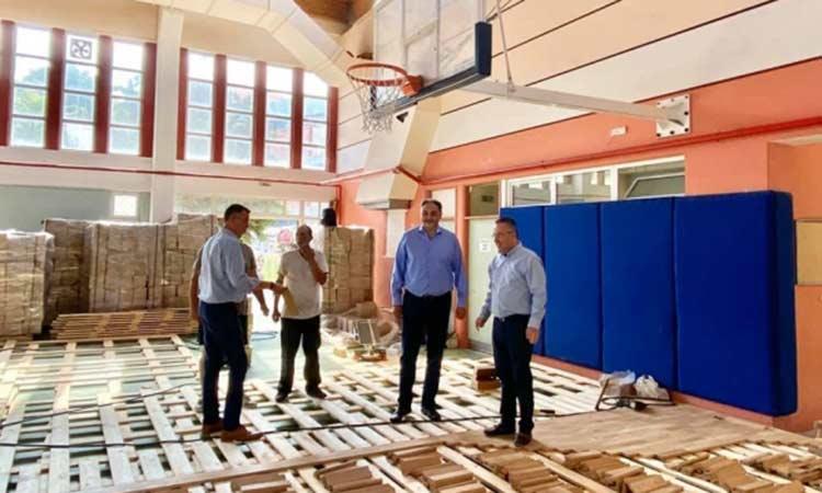 Αναβαθμίζεται το κλειστό γυμναστήριο εντός του Γυμνασίου – Λυκείου Παπάγου