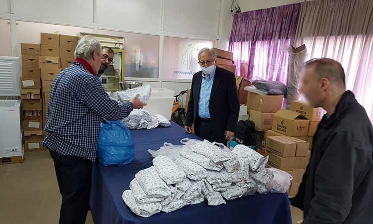 Θ. Αμπατζόγλου: Με αμείωτους ρυθμούς η συνδρομή του Δήμου Αμαρουσίου προς τις ευπαθείς κοινωνικές ομάδες