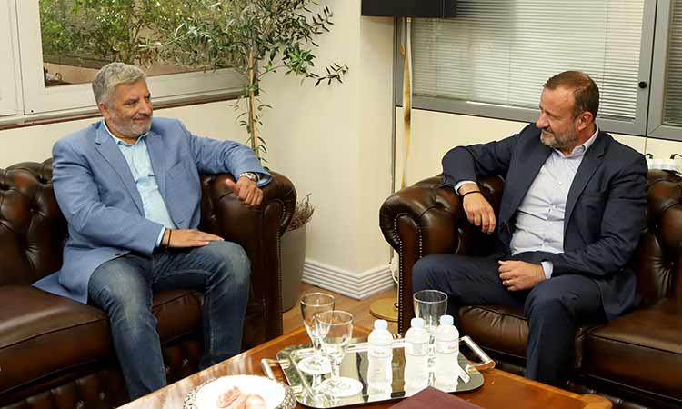 Συνάντηση Γ. Πατούλη με τον επικεφαλής του Διεθνούς Οργανισμού Μετανάστευσης Ελλάδος Gianluca Rocco