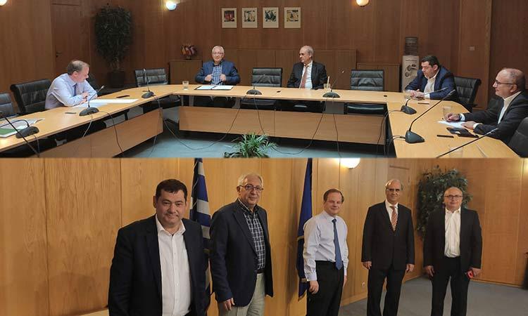 4 δήμαρχοι των Βορείων Προαστίων έθεσαν 5 θέματα που «καίνε» τους Δήμους τους στον υπ. Υποδομών και Μεταφορών