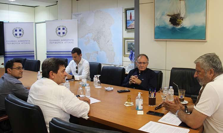 Τα αναπτυξιακά έργα στον Δήμο Πετρούπολης συζήτησαν ο περιφερειάρχης Αττικής με τον δήμαρχο