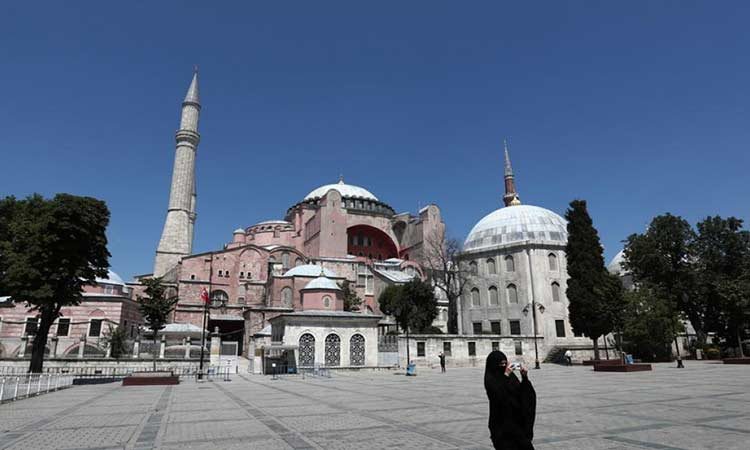Ψήφισμα – διαμαρτυρία της KΕΔΕ για τη μετατροπή της Αγίας Σοφιάς σε τζαμί