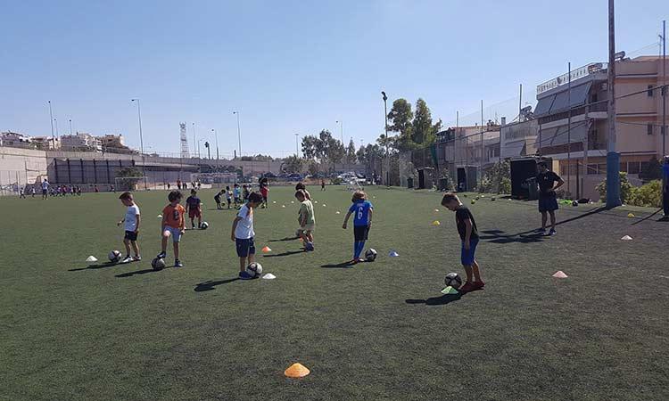 Εγγραφές στις Ακαδημίες Ποδοσφαίρου Δήμου Ηρακλείου Αττικής για την περίοδο 2020/2021