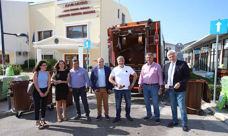 Εξοπλισμός ανακύκλωσης στους Δήμους Μάνδρας – Ειδυλλίας και Μεγαρέων από την Περιφέρεια Αττικής