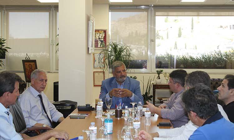 Ο Γ. Πατούλης στηρίζει το αίτημα του Δήμου Αχαρνών να παραμείνει η ΔΟΥ στα διοικητικά του όρια
