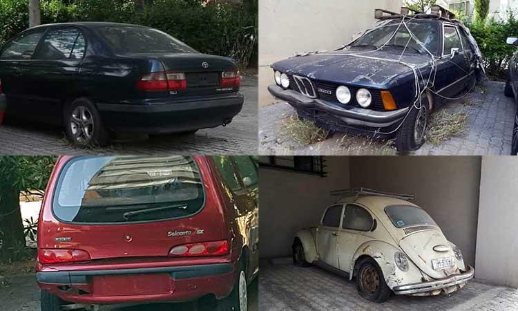 Αγανάκτησαν οι κάτοικοι στο Ηλιακό Χωριό με τα… αμετακίνητα εγκαταλειμμένα οχήματα