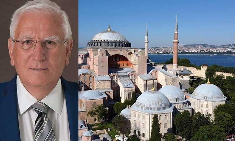 Π. Ιωάννου: Υπάρχουν ελπίδες να αναστραφεί η «δυνατότητα» μετατροπής της Αγίας Σοφίας σε τέμενος;