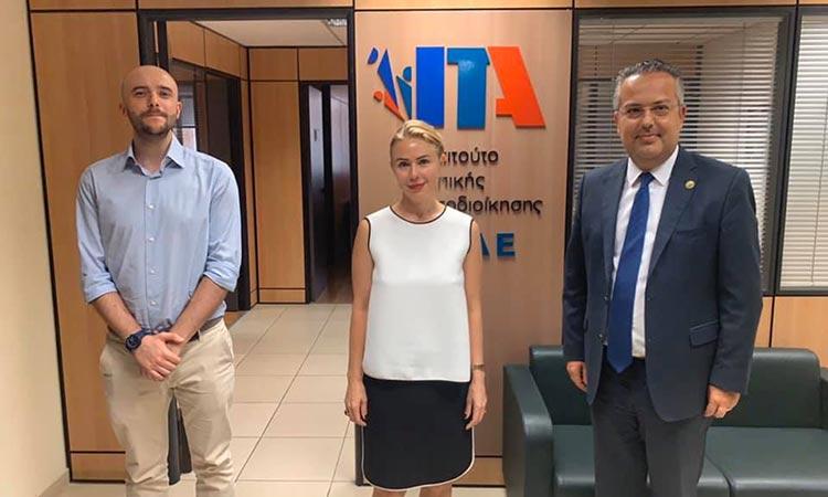 Χρηστή διακυβέρνηση και μεταρρυθμίσεις στην Αυτοδιοίκηση συζήτησαν εκπρόσωποι του ΙΤΑ και του Συμβουλίου της Ευρώπης