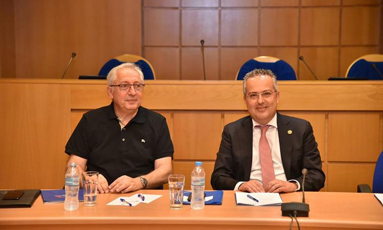 Παρέμβαση Θ. Αμπατζόγλου κατά τη συνεδρίαση του Δ.Σ. του Ινστιτούτου Τοπικής Αυτοδιοίκησης