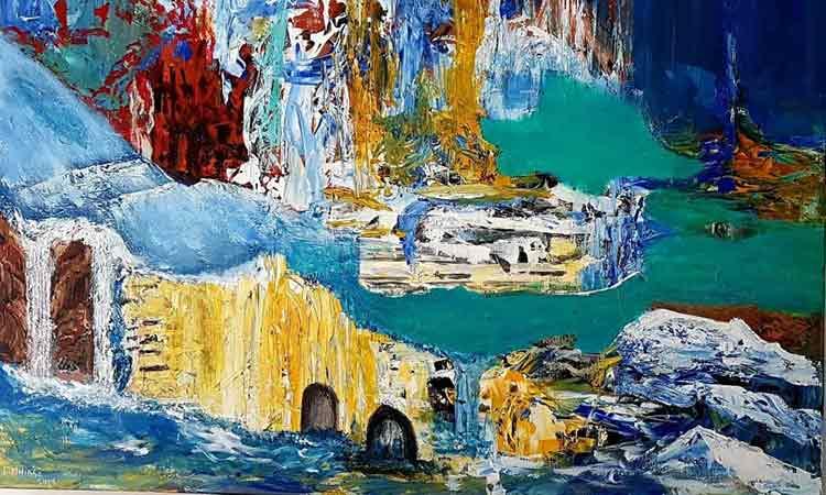 Έκθεση ζωγραφικής με έργα του Lassaad M'hirsi στη Δημοτική Πινακοθήκη Λέφα, στο Ψυχικό